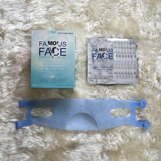 Famous Face V line set 9