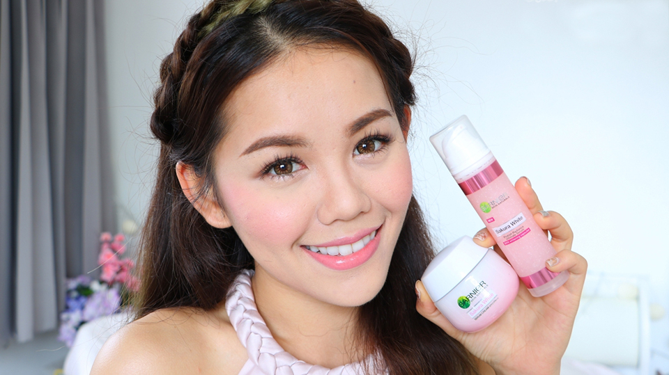 Garnier Sakura White Pinkish