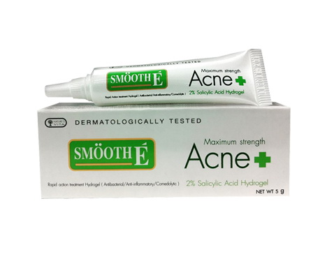 smooth e acne hydrogel thailand best selling products