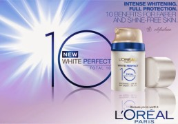 L'OREAL WHITE PERFECT TOTAL10 WHITENING DAY CREAM