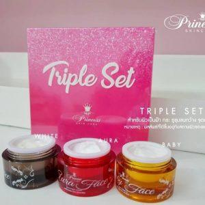 Princess White Skincare Triple Set