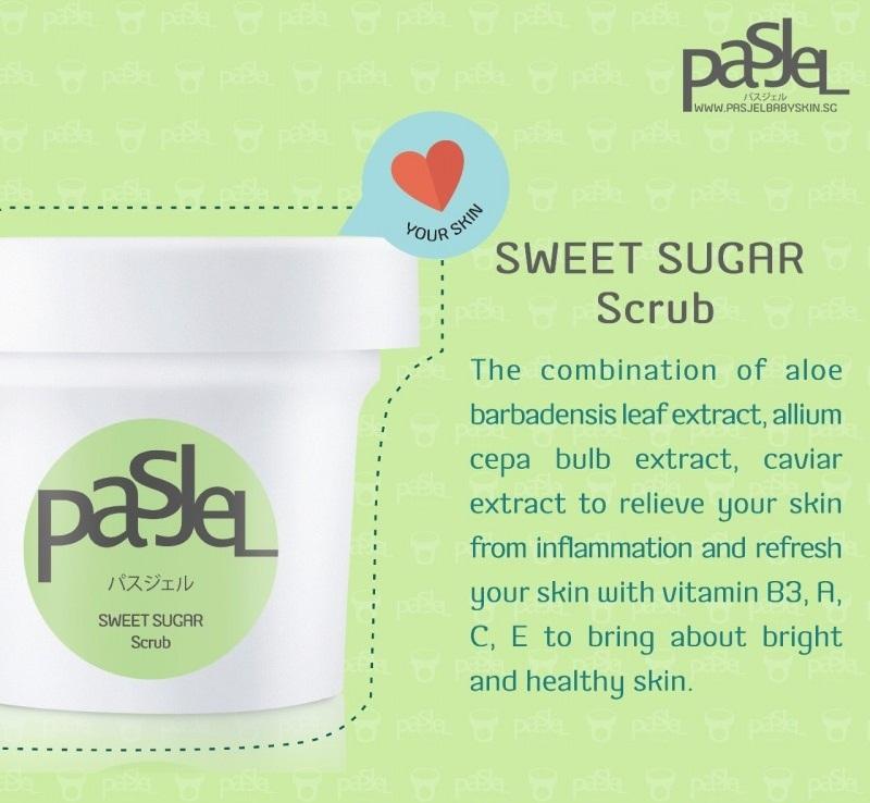 Pasjel Sweet Sugar Scrub3