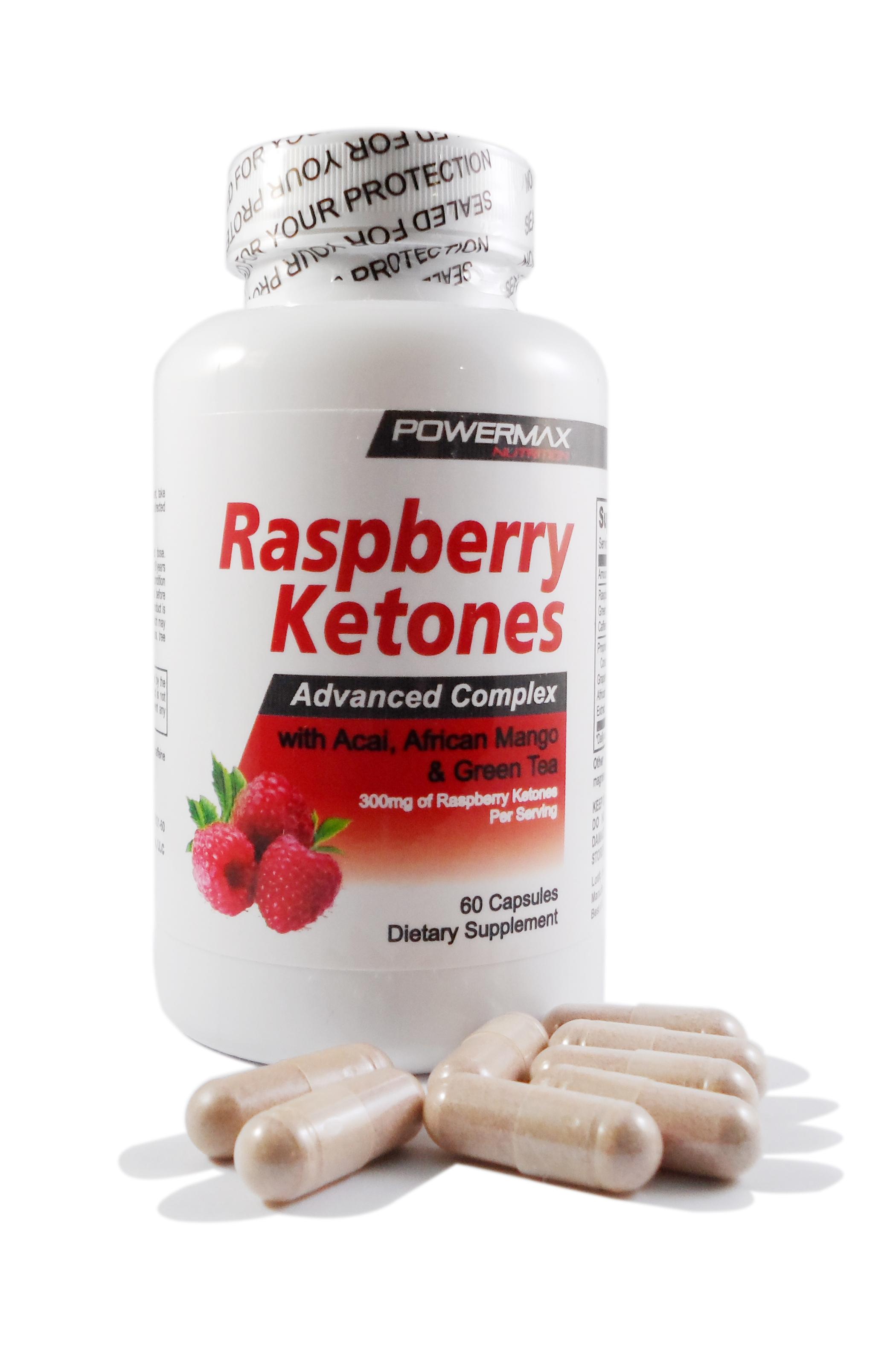 Powermax Nutrition Raspberry Ketones 60 Capsules1