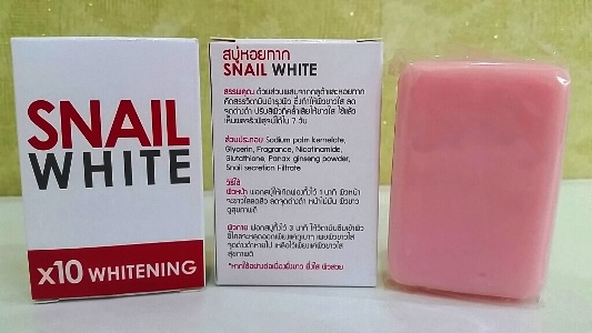 Snail White Soap 10X whitening power 70g. - Thailand Best