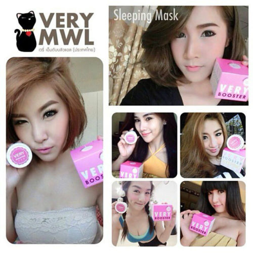 VERY BOOSTER Sleeping Mask By VERY MWL6