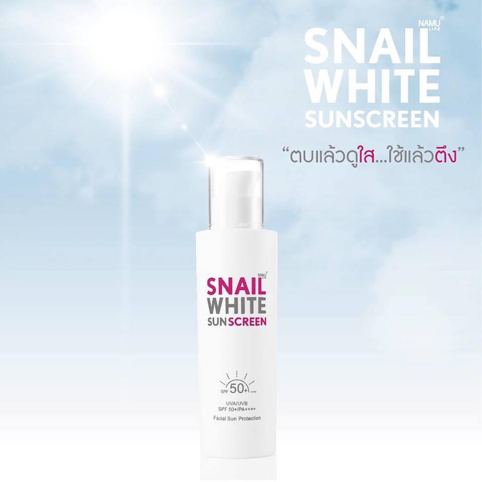 Snail White Sunscreen2