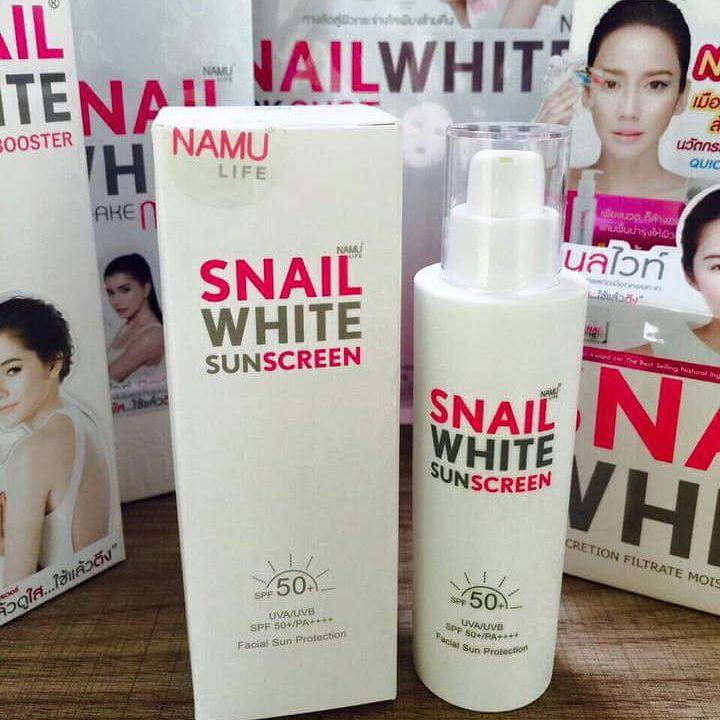 Snail White Sunscreen3