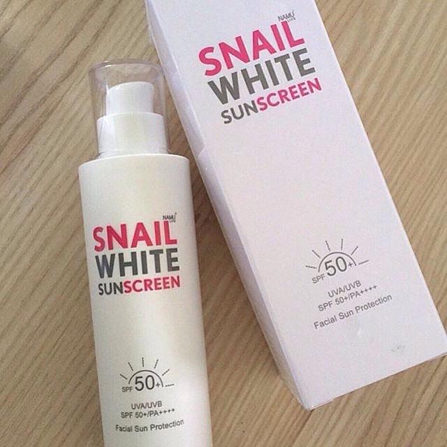 Snail White Sunscreen4