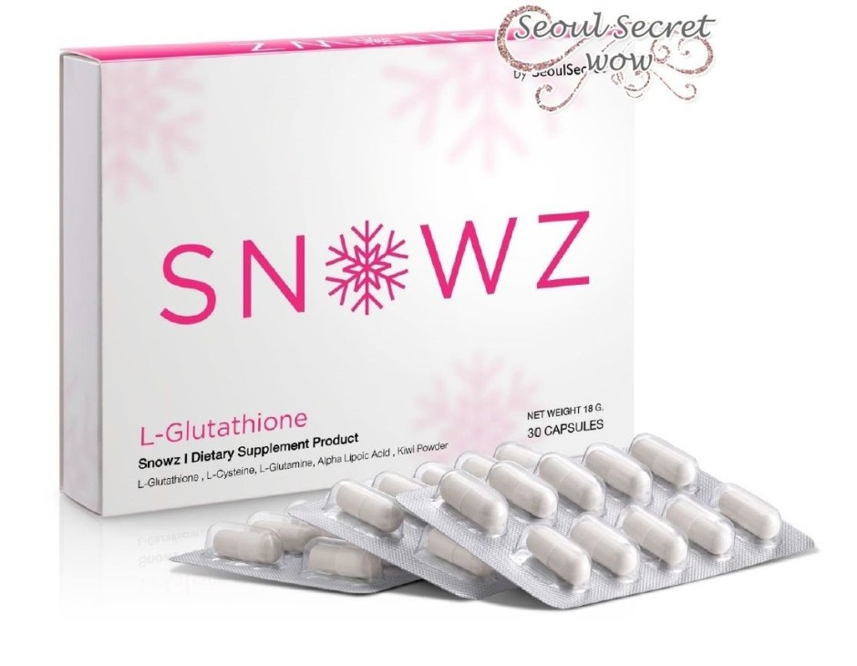 Snowz Gluta By Seoul Secret Skin Care Whitening - Thailand