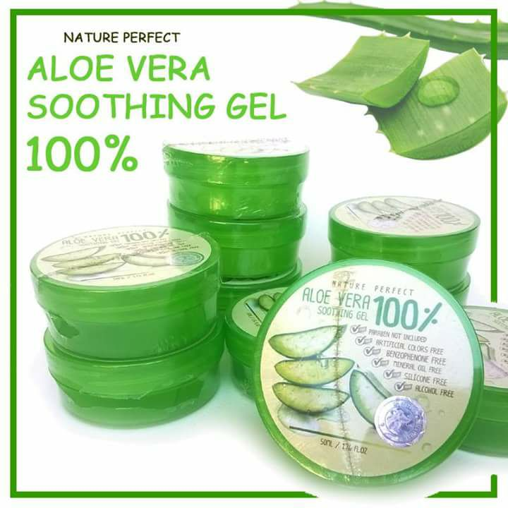 Nature Perfect Aloe Vera Soothing Gel 50 Ml Thailand Best Selling Products Online Shopping Worldwide Shipping