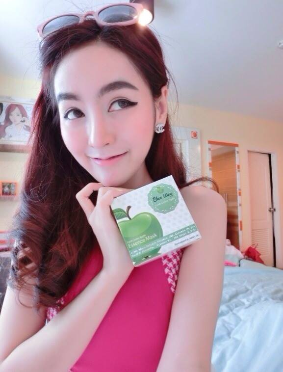 Choo Waii Fresh Green Apple Essence Mask7