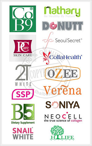 Popular Thai Brands