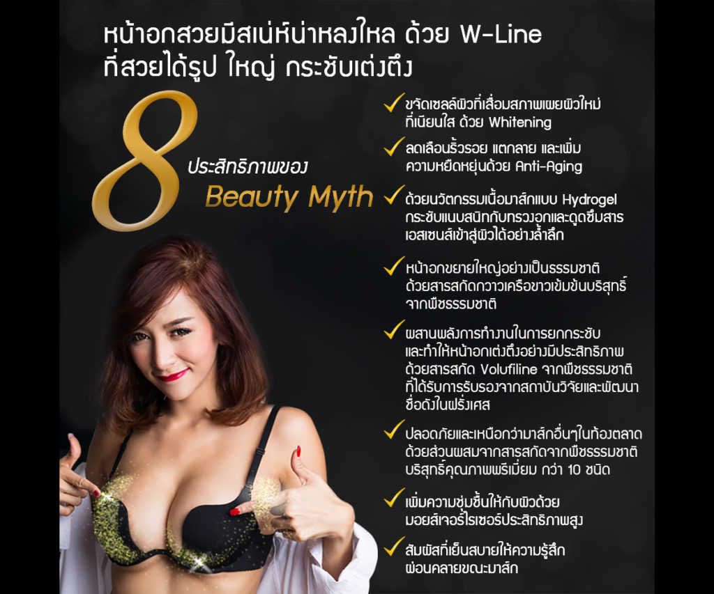Beauty Myth Breast Up Hydrogel Mask2
