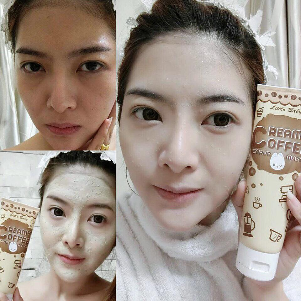 Little Baby Creamy Coffee Scrub & Mask9