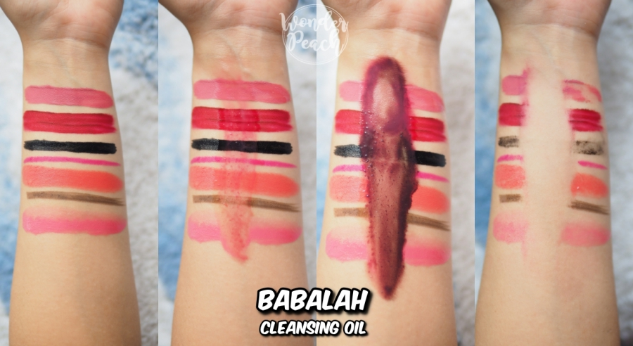 Babalah Cleansing Oil FACIAL CLEANSER7