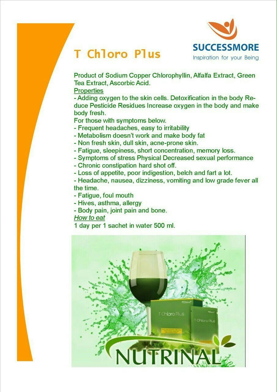 T Chloro Plus Thailand Best Selling Products Online