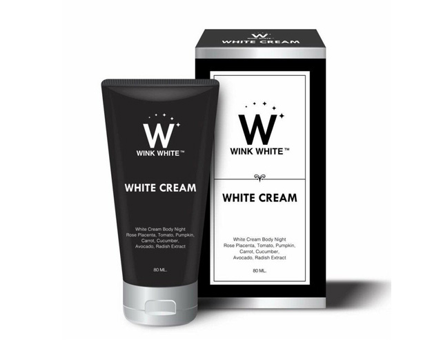 White cream