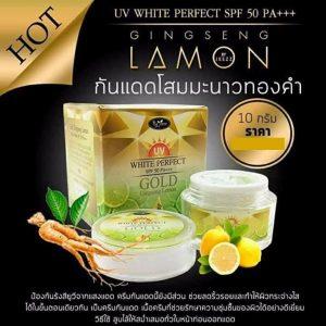 Gold Ginseng Lemon Cream by Jeezz1