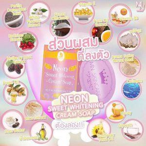Neon Sweet Whitening Cream Soap 6