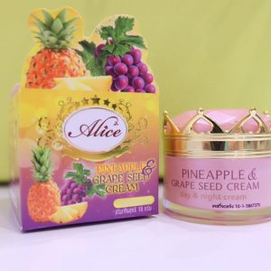 Alice PINEAPPLE & GRAPE SEED CREAM2