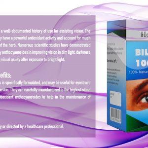 Healthway BILBERRY 10000 mg 100% Nature5