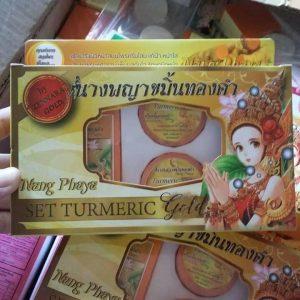 Nang Phaya Set Turmeric Gold by Zennara Gold6