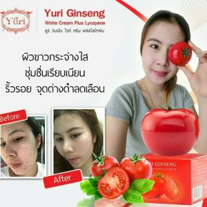 Yuri Ginseng White Cream Plus Lycopene17