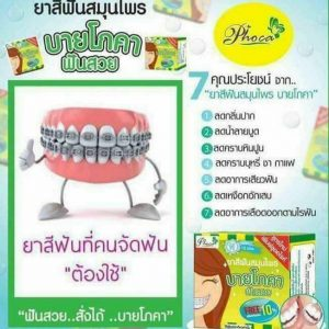 FLUORIDE & HERBAL WHITENING TOOTHPASTE by Phoca7