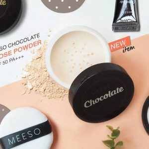 MEESO Chocolate Translucent Loose Powder SPF50 PA+++6