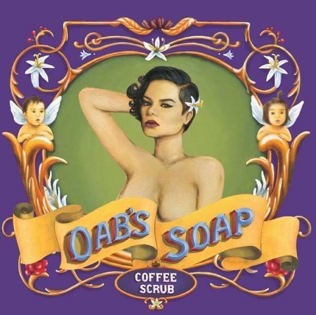 Oab's Soap coffee scrub