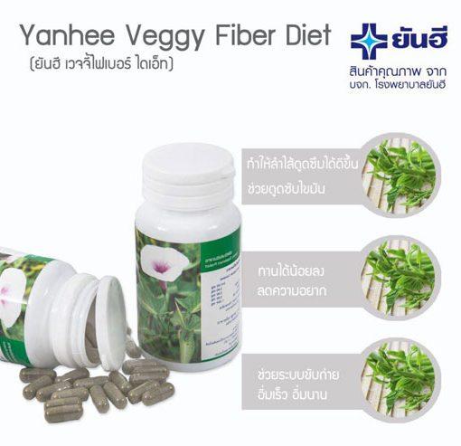 Veggy Fiber Diet by Yanhee