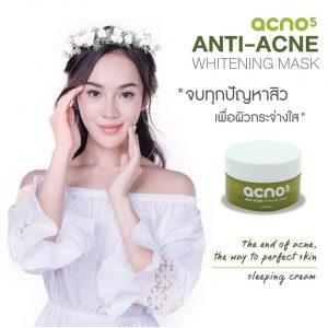 Acno5 Anti-Acne Whitening Mask8