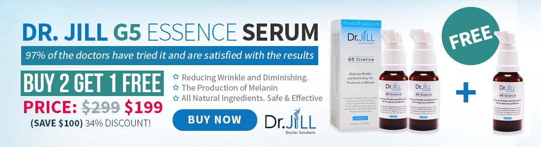 Dr.Jill G5 Promotion Buy 2 Get 1 Free