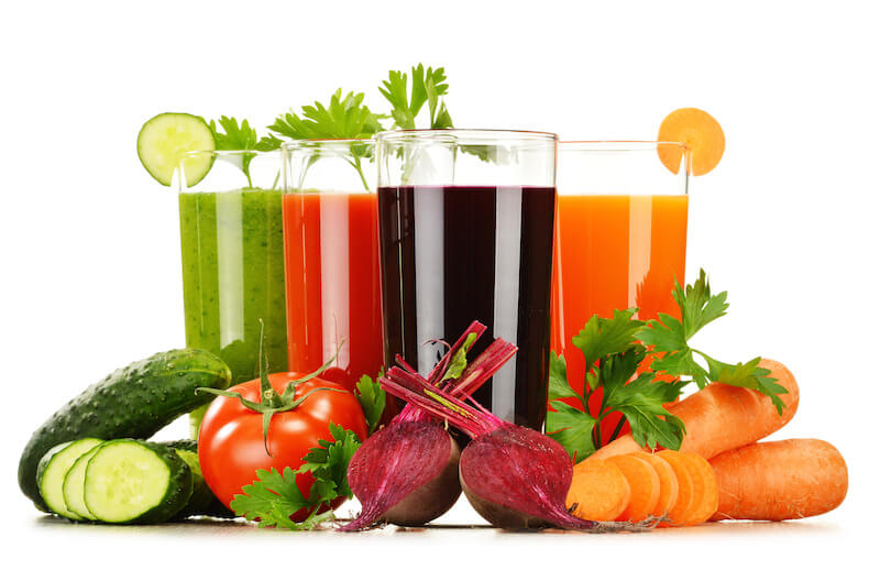 Vegetable Juice Fat Burning Drinks