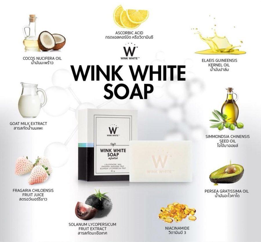 Wink White Soap