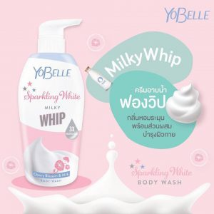 Yobelle Sparkling White Body Wash