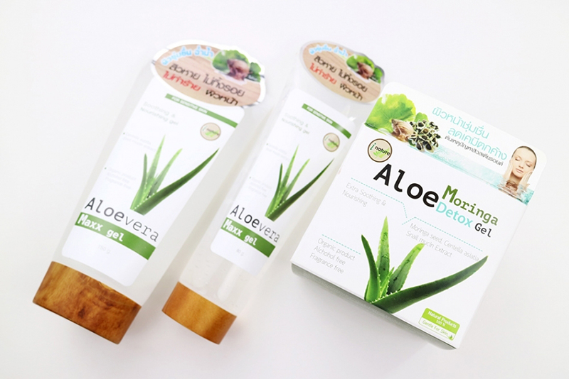 i nature Aloe Moringa Detox Gel