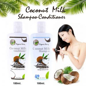 i nature Coconut Milk Shampoo & Conditioner