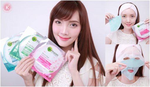 Garnier Skin Naturals Serum Mask Sakura White