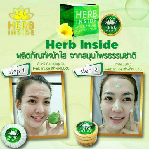 Herb Inside Soap