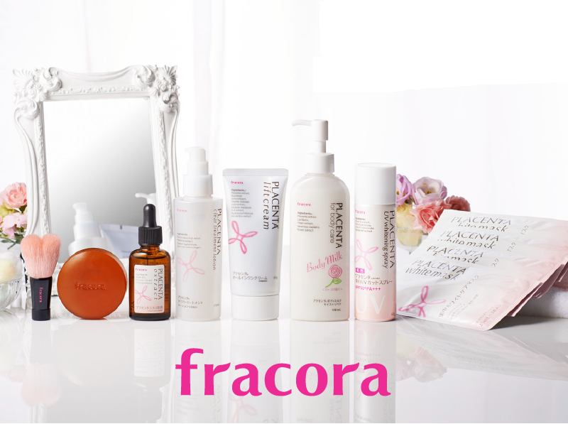 Fracora Placenta Body Milk for Body Care