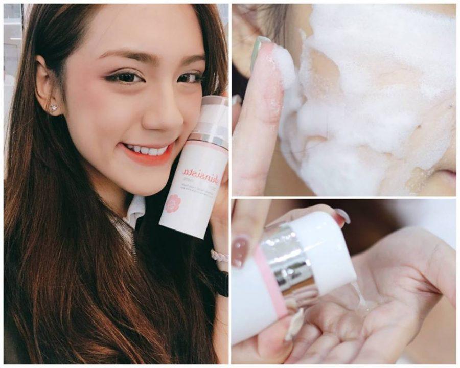 Skinsista Dongbaek White 2 in 1 Detoxify Facial Mask Foam