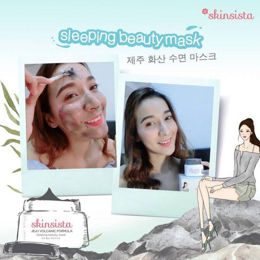 Skinsista Jeju Volcanic Sleeping Mask