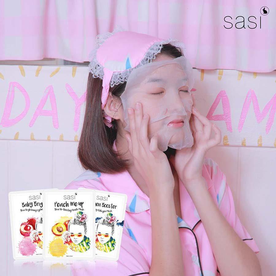 Sasi Baby Bright Lychee Mask