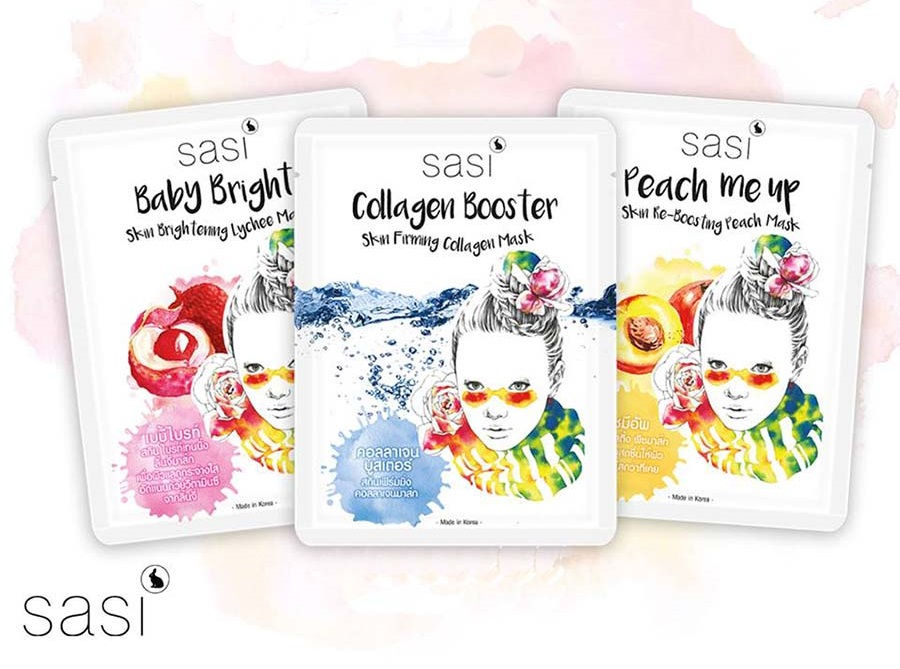 Sasi Collagen Booster Mask