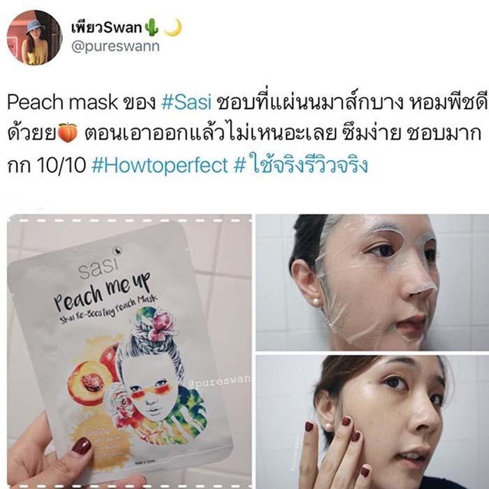 Sasi Peach Me Up Mask