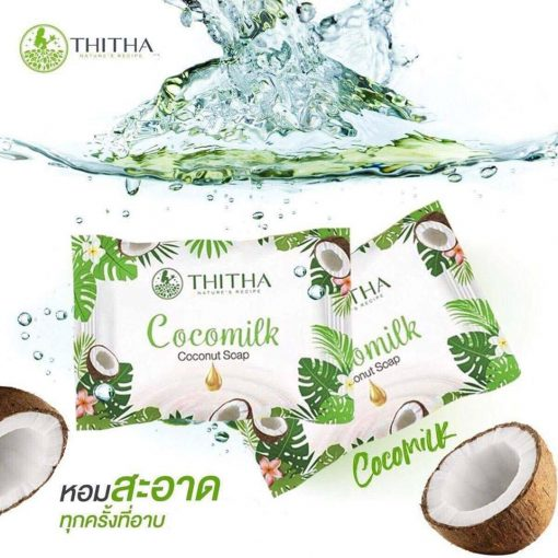 Cocomilk Coconut Soap by Thitha