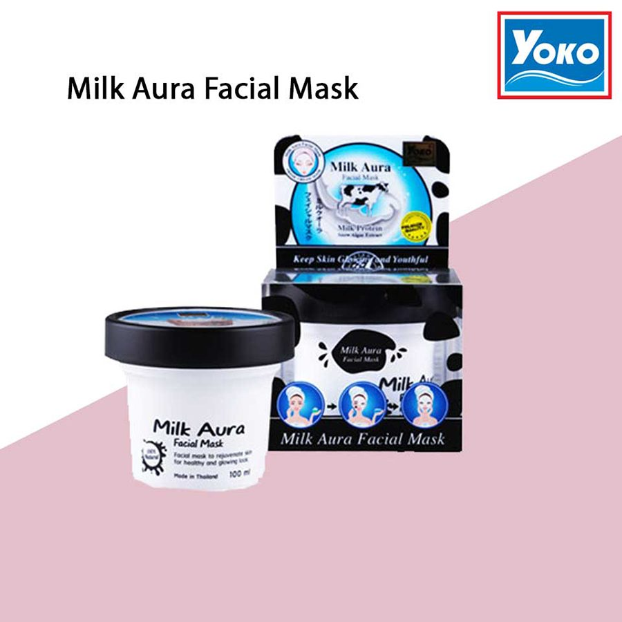 Yoko Gold Milk Aura Facial Mask