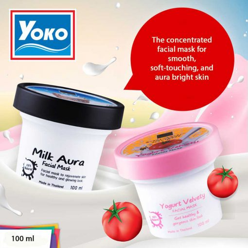 Yoko Gold Milk Aura Facial Mask