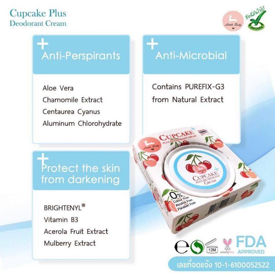 Cupcake Plus Deodorant Cream